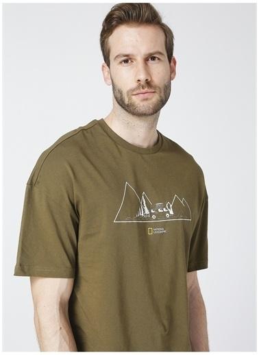 National Geographic National Geographic T-Shirt Haki